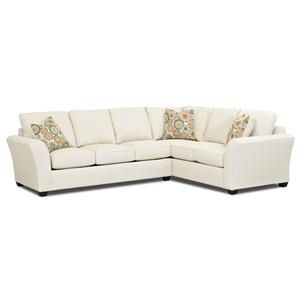 klaussner loomis sectional sofa contemporary leather sleeper page 2 of sofas | ohio, youngstown, cleveland ...